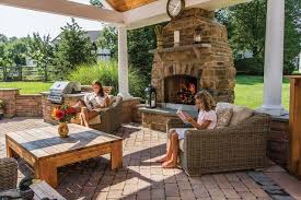 covered patio with fireplace download outdoor fireplace covered patio garden design