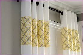 Yellow White Curtains Grey White And Yellow Curtains Home Design Ideas