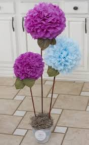 Paper Home Decor Bonsai Of Diy Tissue Paper Pom Poms Crafts Home Decor Diy Paper