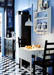 small kitchen designs ikea roselawnlutheran small ikea drop leaf table and two chairs plate storage rack on the wall
