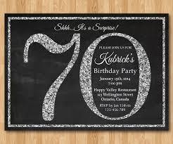 70th birthday party ideas 70th birthday party invitations kawaiitheo