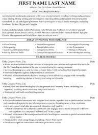 journalism resume template with personal summary statement exles journalism resume exles cv resume ideas