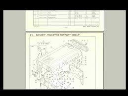 kubota b6000 b6000e b 6000 tractor diagram parts manual for sale