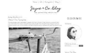 simple blogger template simple black and white modern bd web studio