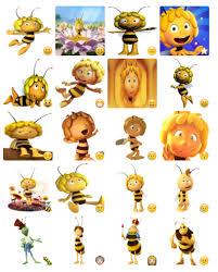 maya bee stickers telegram
