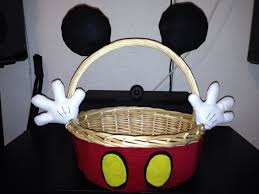 mickey mouse easter basket mickey mouse easter basket sewn gloves ears also used hot