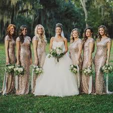 sequin bridesmaid dresses get cheap gold sequin cowl bridesmaid dress aliexpress