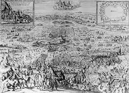 second wien vienne during the second siege of vienna cooper engraving 17th