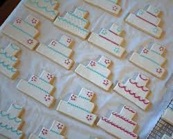 Wedding Cake Cookies Wedding Cake Cookies Double Batch