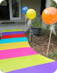 candyland party supplies candyland walkway from duct candy theme party