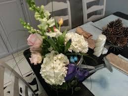 make an easy easter or spring flower arrangement
