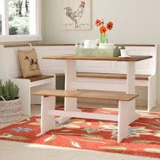 corner dining room set corner dining table nook wayfair