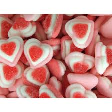 gobstopper hearts candy hearts wedding bonbonniere ideas