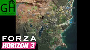 Barn Find 3 Forza Horizon Forza Horizon 3 Barn Finds Guide And Map Gamerheadquarters Article