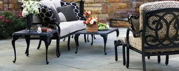 Glides For Patio Furniture by Patio Furniture Mandalay8 Fascinating Cast Aluminum Patio