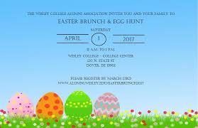 easter brunch invitations easter brunch 2017 wesley college