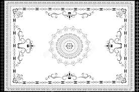 Vintage Ornaments by Vintage Ornaments In Oriental Style Carpet Graphic Royalty Free