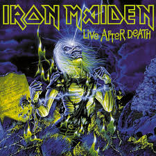 Iron Maiden Flag Iron Maiden Live After Death Nuclear Blast