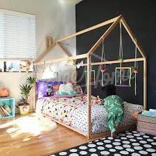 Child Bed Frame Toddler Bed House Bed Tent Bed Children Bed Wooden House Wood