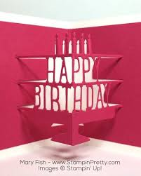 441 best birthday cards pop ups u0026 movement images on pinterest