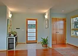 living room paint ideas with light wood trim
