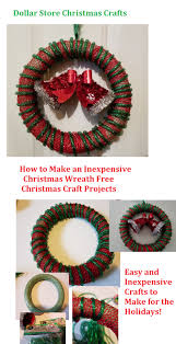 learn how to make an easy dollar store christmas wreath free craft