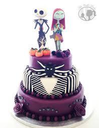 nightmare before christmas wedding cake cake by gemma harrison