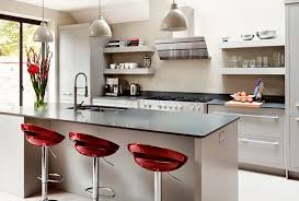modern kitchen island stools crescent stools for modern kitchen decor ideas with sleek grey