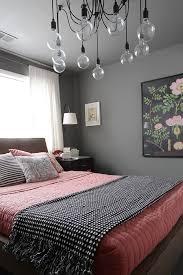 chambre en et gris décoration d une chambre en gris et corail
