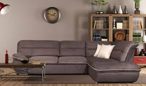 Sectional Sofa Sleeper With Chaise by Tiffany Modern Fabric Sectional Sofa W Sleeper In Chocolate Free