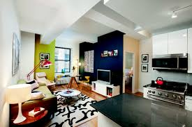 all in one room apartment home design