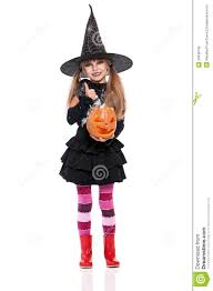 Halloween Costume Girls Halloween Costume Royalty Free Stock Image Image