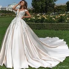 satin wedding dresses discount 2018 design satin wedding dresses pale