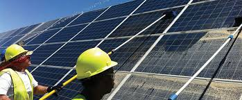 diy solar diy solar panel cleaning checking cleaning solar panels