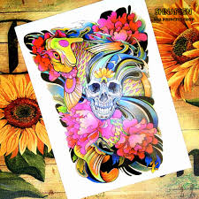 tattoo home decor compare prices on koi tattoo art online shopping buy low price