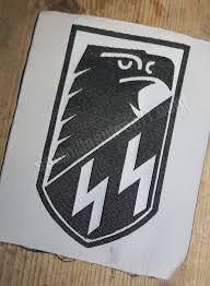 Tella 174 Peel Amp Stick Parche Tela Waffen Ss Aguila Sabinillas Airsoft
