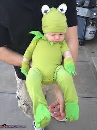Frog Halloween Costume Infant Kermit Frog Diy Baby Costume Photo 2 5