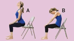 best chair yoga moves combat back health