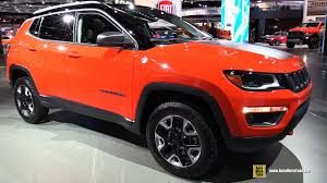 jeep compass limited red 2018 jeep compass trailhawk exterior and interior walkaround