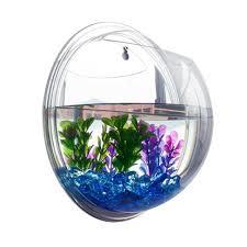 Aquarium For Home Decoration Plant Wall Hanging Mount Bubble Aquarium Bowl Fish Tank Home Decor