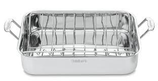 amazon com cuisinart chef u0027s classic stainless 16 inch rectangular