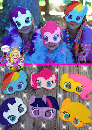 horse mask halloween city my little pony mask pinkie pie costume by akidsdreamboutique