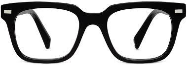 black friday eyeglasses winston eyeglasses in jet black for men warby parker