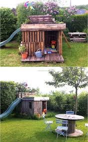 17 best kids playhouse images on pinterest pallet playhouse