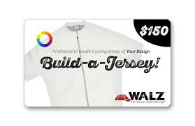 build a gift cards build a jersey gift card walz caps classic american cycling caps