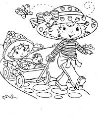 strawberry shortcake printable coloring pages coloring me