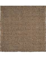Black Jute Rug Great Deal On Safavieh Natural Fiber Collection Nf181c Hand Woven