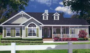 Farmhouse Plans Wrap Around Porch Dream House Plans With Porches All Around 17 Photo Architecture