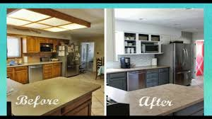 cheap kitchen makeover ideas before and after before and after