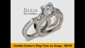 jeulia heart cut created white jeulia mother u0027s day deal on rings 2017 youtube
